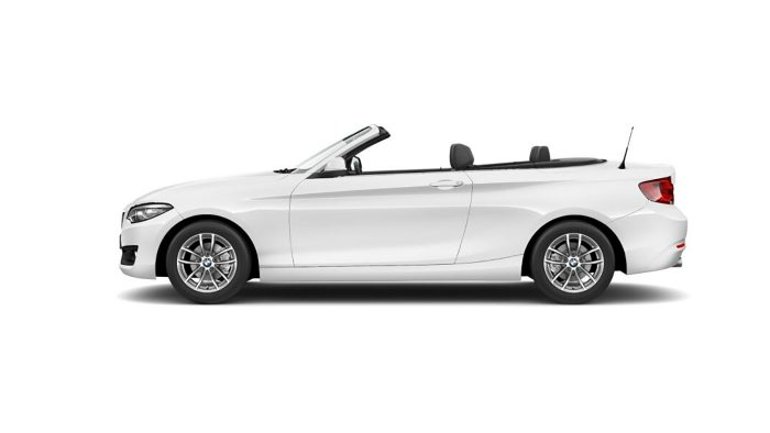 bmw lateral serie2