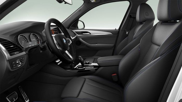 bmw interior lateral
